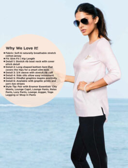 Enamor Naturally Stretch Jersey For Girls and Womens