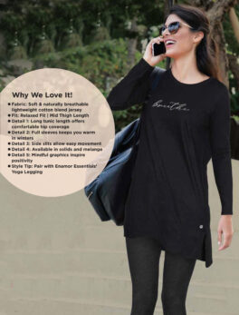 Enamor Naturally Breathable Lightweight Jersey For Girls and Womens