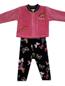 Brats and Dolls Butterfly Design Boys Shirt and Pajama Set For Kids