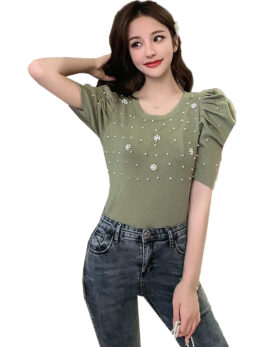 Swaggers Cotton Printed Half Sleeve Tshirt Top For Girls