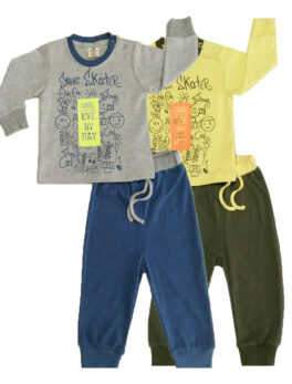 Brats and Dolls New Fashion Boys T Shirt and Pajama Set For Kids