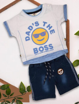 Buy t-shirt and shorts Set for kids Boys Swaggersonline