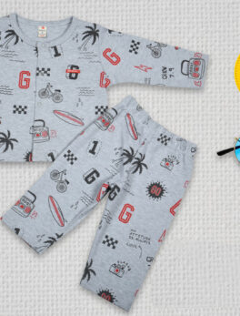 Nightsuit Shirt and Pyjama Set For Kids Swaggersonline