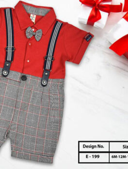 Outfits Kids Suit Set With Suspenders Strap For Baby Boys